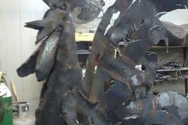 פיסול בברזל